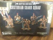 Games Workshop Warhammer 40K: Custodian Guard Squad