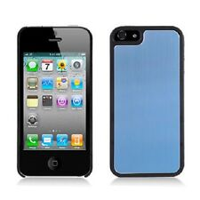 For iPhone 5 5S SE METAL Aluminum HARD Protector Case Snap On Phone Cover Blue