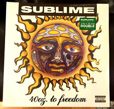 Rare Unreleased Sublime 40oz to Freedom Vinyl LP w/Green Sticker Skunk Records