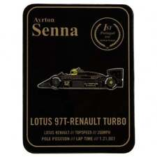 Ayrton Senna Collection Pin F1 Lotus 97T