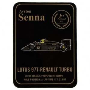 Ayrton Senna Collection Pin F1 Lotus 97T