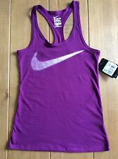 Nike Ladies Dri Fit THE NIKE TEE  Athletic Cut Vest. X Small