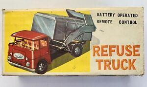 1960s Hong Kong Guiterman vintage plastic Acme Refuse Truck Empire Made