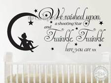 Baby Girls Boys Nursery Wall Sticker Twinkle Twinkle Quote Bedroom Wall Decor