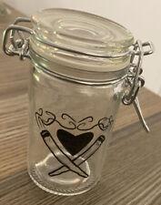 Love Jointz Herb Glass Stash Jar With Airtight Lid