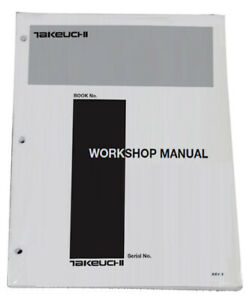 Takeuchi TL150 Crawler Loader Workshop Service Repair Shop Manual
