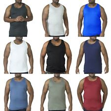 Duke D555 Mens Fabio Big Tall King Size Muscle Sleeveless Tee Singlet Top Vest