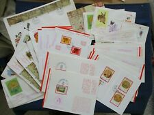 Lot 35 Taiwan China First Day Covers & Cards 1970s 19 Different Some Duplication