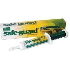 Merck Animal Horse Health Safe Guard Equine Paste W/ Syringe 25 Gram. U-305