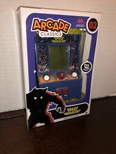 MINTY RED NUMBERED Arcade Classic Space Invaders #02 mini arcade electronic game