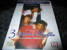 """DVD """"TROIS 3 HOMMES ET UN 1 COUFFIN"""" Roland GIRAUD, Michel BOUJENAH, Andre DUSSO"""