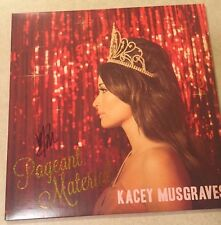 "KACEY MUSGRAVES  ""PAGEANT MATERIAL"" Signed Vinyl  Album LP"