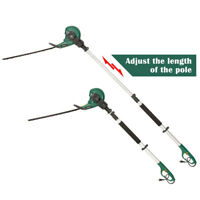 "Electric Corded Hedge Trimmer 18"" Dual Blade 2 in 1 Multi-Angle Telescopic Pole"