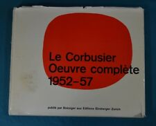 Le Corbusier Oeuvre Complète 1952 - 1957 Girsberger Zurich First Edition 1957