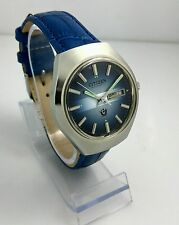NOS Citizen vintage automatic blue dial watch new old stock, MINT 80's stock