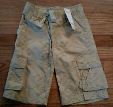 NEW Gymboree Pull On Khaki Shorts  Boys Size 5 NWT
