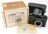 ⭐NEW⭐ 1991! ZENIT-ET ЗЕНИТ Russian Soviet USSR SLR 35mm Camera M42 Body & Case