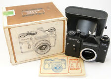⭐NEW⭐ 1990! ZENIT-ET ЗЕНИТ Russian Soviet USSR SLR 35mm Camera M42 Body & Case