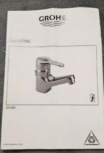 GROHE Eurodisc waschtisch armatur