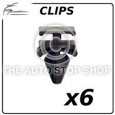 Clips pare-brise 8,2 mm Moulage Pare-brise RENAULT SCENIC III partie 11988 6 Pack