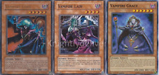 Authentic Camula Deck - Vampire Lady - Vampire Lord - Grace - 40 Cards - Yugioh