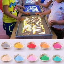 Fine 50g Sand Art Painting Kid Children Indoor Toy Crafts Materials Non Toxic