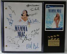 "Mama Mia Reproduction Signature Script Display ""C3"""