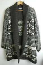 Per Una M&S Marks & Spencer Nordic Icelandic Scandi Coatigan Cardigan Size: M
