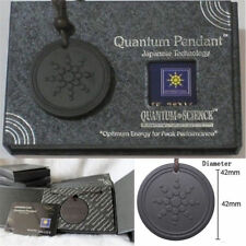 Quantum Pendant Necklace Scalar Orgon Energy neg ions EMF Protection Lot New TR