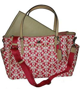 COACH Peyton Dream C Multifunction Baby Diaper Tote 30541  NWT New