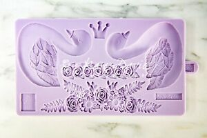 Karen Davies Sugarcraft Swan Cookie Mould For cakes and Cookies