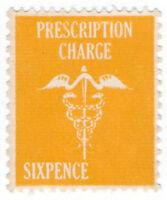 (I.B) Elizabeth II Revenue : Prescription Charge 6d