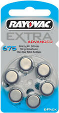 Rayovac Battery Zinc Air Hearing Aid Extra Advanced Long Lasting Mercury Free