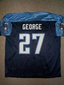 *IRREGULAR* Tennessee Titans EDDIE GEORGE nfl Jersey Adult MENS/MEN'S (xl)