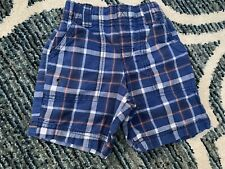 Carters - Boys - Shorts - Blue Plaid - Size 3 T