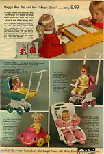 1970 PAPER AD Doll Peggy Pen Pal Tippy Tumbles Buffy Mattel Beasley Baby Carrie