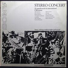 Rare promo! STEREO CONCERT LP 1970 Sony-CBS Chicago John Williams Richard Burton