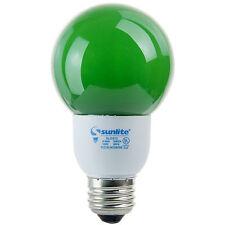 Sunlite SLG9/G21/P G21 Globe 9 W Energy Saving CFL Light Bulb Medium Base Green
