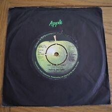 """John Lennon:  Give Peace A Chance   7"""" Single  Original  Apple 13    VG+"""