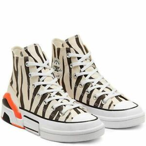 Womens Converse 'Zebra' CPX 70 Sun Blocked Colourblock High Top Trainers
