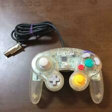 Nintendo Official GameCube Controller Pad Clear Spice GC Wii Joy stick JP F/S