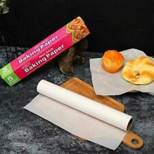 New listing 5/10/20M Parchment Roll Bakeware Silicone Greaseproof Paper Sheets Stable !*