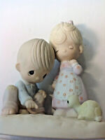 """PRECIOUS MOMENTS """"THOU ART MINE"""" FIGURINE   EXCELLENT  PRE-OWNED CONDITION DV43"""