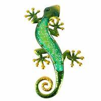 AB Tools Lizard Gecko Garden Wall Door Shed Sculpture Ornament Statue Metal Decoration