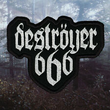 Deströyer 666 / Destroyer 666 | Embroidered Patch | Thrash / Black Metal Band