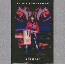 """LUIGI SCHIAVONE """" ANIMALE """"  MUSICASSETTA SIGILLATA  (MC K7)  1993"""
