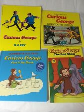 Lot Of Four Curious George Books Three Paperback One Hardcover