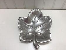 Vintage Bruce Fox Aluminum Leaf Dish 23168