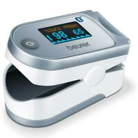 Beurer PO60 Bluetooth Fingertip Pulse Oximeter with Monitoring via App