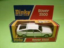 DINKY TOYS 180 ROVER 3500 - WHITE - RARE SELTEN - GOOD CONDITION IN BOX